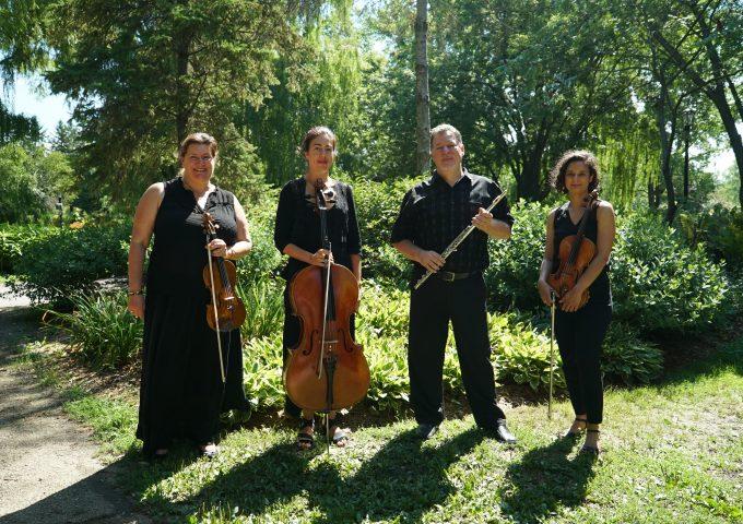 Au-delà des notes – un quatuor de cordes et flûte en salle le 2 mai prochain