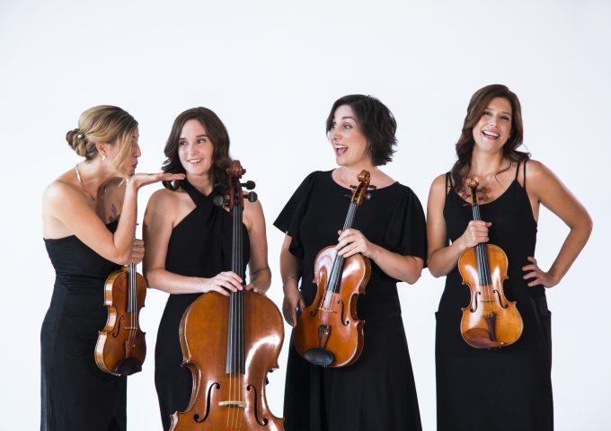 Pour un flirt! – Un quatuor à cordes féminin en salle le 30 mai