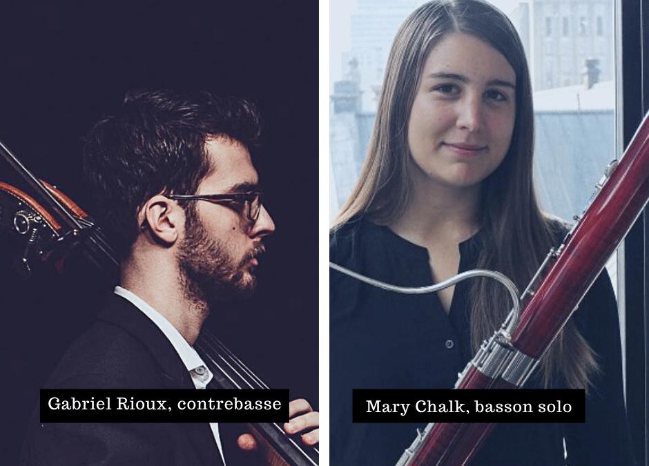 Nomination de deux nouveaux musiciens à l'OSTR